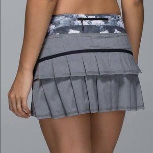 Lululemon Pace Setter Skirt Slate Dream Rose